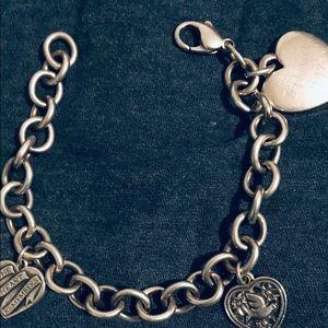 James Avery Clásico cable charm bracelet